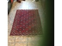 Late aunties rugs wool reds 50x35 inches ;nice