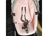 Stokke scoot v2 pink and grey