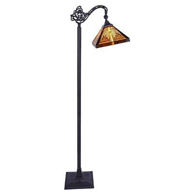 Stained Glass Chloe Lighting Mission 1 Light Reading Floor L
