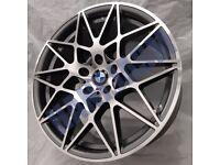 B1* 4X NEW ALLOY WHEELS 18 INCH ALLOYS 666M M666 BMW 1 & 2 SERIES M SPORT F20 F21 F22 F23