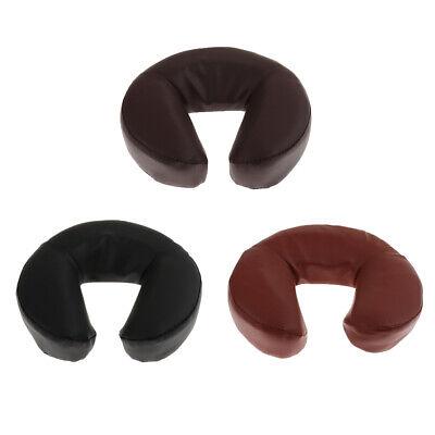 U-Form PU-Leder Kopfpolster Kopfstütze Massagekissen Gesichtskissen