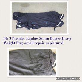 6ft3 Premier Equine Storm Buster Rug
