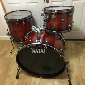 """Refurbished Natal Walnut """"UR"""" Config Shell Pack (Special Edition Finish)"""