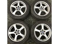 17 inch alloy wheels & tyres Ford Galaxy S Max Renault Peugeot alloys rims