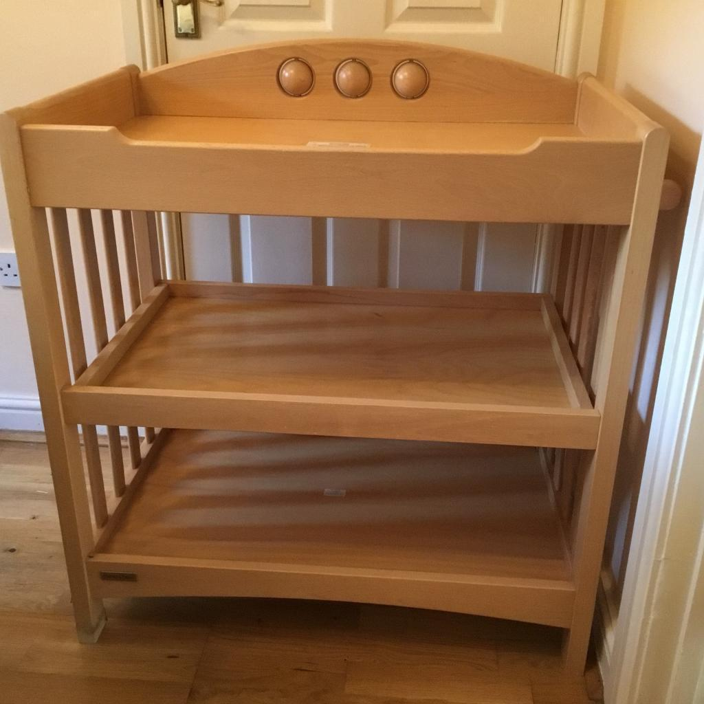 Magnificent Mamas And Papas Wooden Amelia Changing Table With Storage Shelves In Kings Worthy Hampshire Gumtree Download Free Architecture Designs Embacsunscenecom