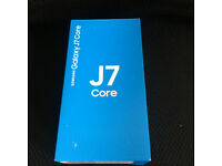 SAMSUNG GALAXY J7 CORE 2017 16GB DUAL SIM BRAND NEW SEALED UNLOCKED BLACK AND GOLD COLOUR AVAILABLE