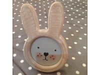 Sass and belle cute bunny frame.Brand new..