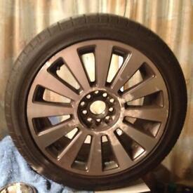 "17"" Multifit Alloy Wheels set of 4"