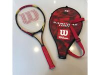 "Wilson Sampras Tour Children's Tennis Racket - 25"""