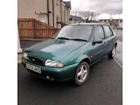 1999 Ford Fiesta Zetec *MOT'd to March 2019, Low Miles, 1.3L petrol, 5 Door Hatchback*