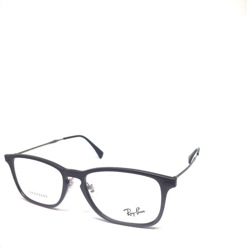 34b162c76f Unisex RAY-BAN RB8953 8029 Grey Graphene Genuine Eyeglasses Frame 54-17-140