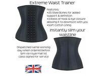 25 Steel Bone Waist Trainer Waist Cincher Slimming Girdle Latex Waist Trainer Faja Shaper