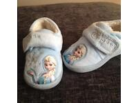 Brand New Girl's Frozen Elsa slippers size 5