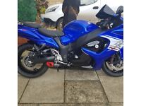 67 plate hayabusa in very good condition