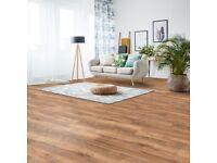 Costco Walnut Laminate Flooring, 5 packs
