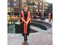 KS2-3/GCSE/IB/A-Level Tutoring - Sciences, Maths and English