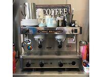 Cinbali m28 exp coffee machine with grinder