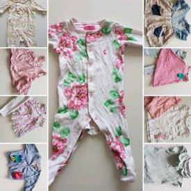 Baby Girls Clothes 6-9months (includes joules, gap, next)
