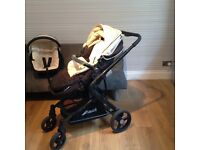 Hauck cream and black travel system need gone asap!!!!!