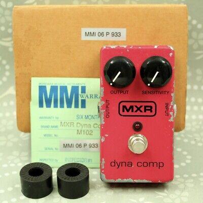 MXR M102 Dyna Comp With original box Guitar effect pedal (MMI07Q675)