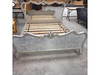 Mirrored King Size Bed Frame (Brand New)