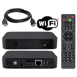 Weekly Promotion ! INFORMIR MAG322-W1 IPTV BOX + IN BUILT WIFI + HDMI CABLE + REMOTE + POWER ADAPTER