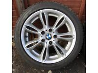 "BMW Style 103 17"" x 8"" Alloy Wheels Z4 E46 E87"