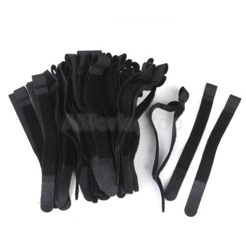 10x klettband beidseitig klettkabelbinder klettverschluss band ebay. Black Bedroom Furniture Sets. Home Design Ideas
