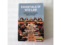Essentials of WTO Law by Peter van den Bossche, Denise Prevost (Paperback, 2016)