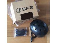 SFR Brand new black cycle/Skate/BMX helmet - large size
