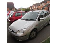 Ford Focus Ghia 5 dr, 2002,for sale.