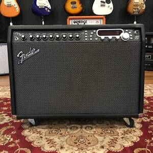 FENDER CYBER TWIN SE WITH FOOT CONTROLLER Moorooka Brisbane South West Preview