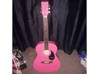Westfield guitar half size and tuner
