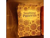 Job lot - 57 Soothing patterns calming artwork colouring books
