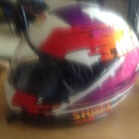 Shoei Motorcycle Helmet. Little used.