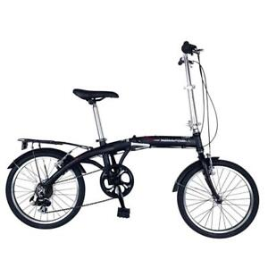 NEW Hollandia Amsterdam 7 Folding Bike, 20 inch Wheels, 11 inch Frame, Unisex, Black