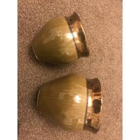 2 SERAX potteries plant pots