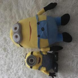 Minion soft toy and talking toy