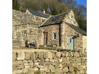 Cosy Romantic Holiday cottage, Derbyshire