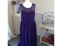 8/9&15/16 purple bridesmaid dresses
