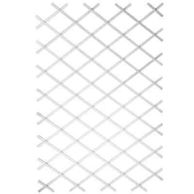 Nature Trellis Plastic White 100x300cm Outdoor Garden Fence Climbing Plant