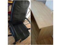 Desk + chair set