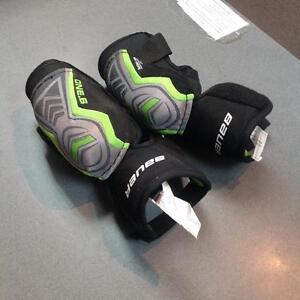 Jr. Bauer elbow pads -JR Small- green/black (sku: HNH5PQ)