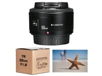 BRAND NEW - Yongnuo 50mm f/1.8 lens for Canon
