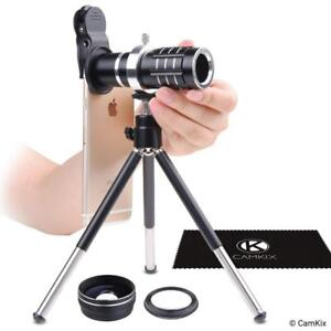NEW Universal 3in1 Lens Kit with 12x Telephoto + Macro + Wide Angle Lenses - Awesome Mobile