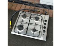Indesit gas hob 4 ring burner 60cm