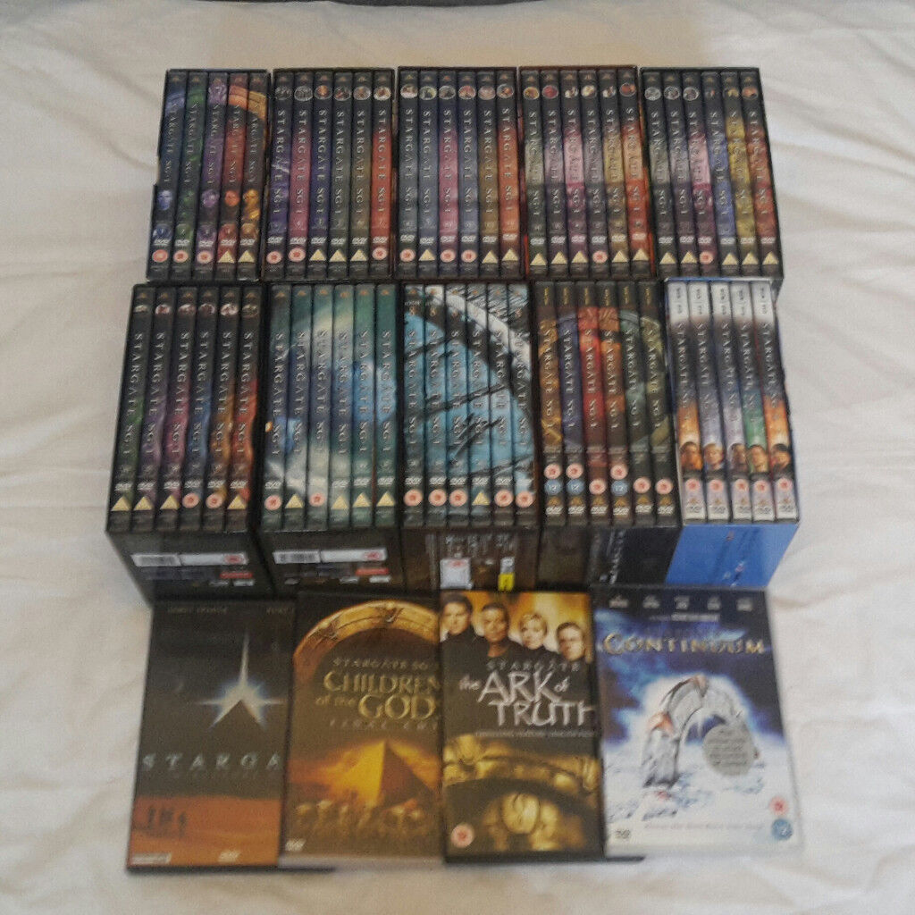 Stargate SG-1 Complete Series + Ark of Truth + Continuum + Children of the Gods + Original Movie