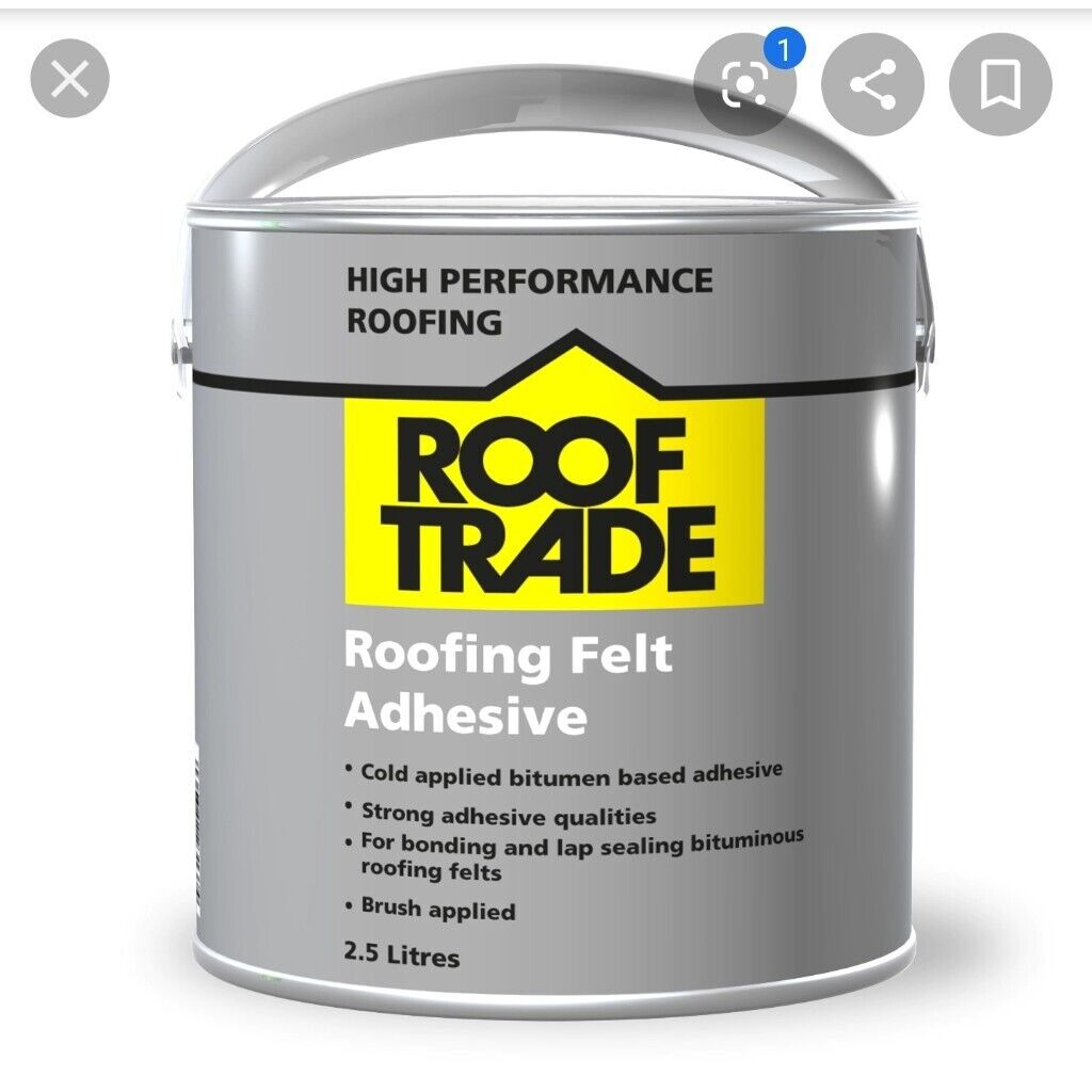 WANTED - SMALL AMOUNT OF ROOFING FELT ADHESIVE | in ...