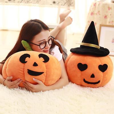 Halloween Pumpkin Design Stuffed Plush Throw Pillow Home Garden Party Decoration (Halloween Party Interior Design)