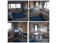 3 Bedroom Holiday Caravan for Rent, Devon Cliffs, Sandy Bay, Exmouth, Devon